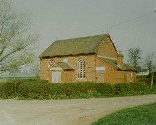 1838 Sutton on the Hill Primitive Methodist chapel as it was in 1987 | Keith Guyler 1987