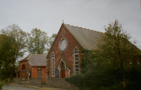 Donisthorpe; Mount Zion Primitive Methodist chapel and its 1853 predecessor