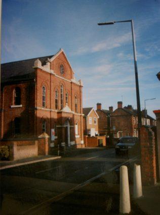 Newhall Primitive Methodist chapel   Keith Guyler 2004