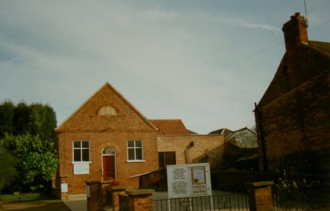 Lowdham Primitive Methodist chapel