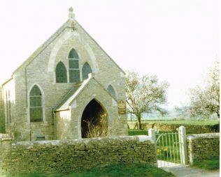 Churchhill Primitive Methodist chapel   Keith Guyler 1990