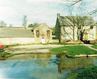 1865 Upper Slaughter Primitive Methodist chapel in 1990. It closed in 1954 and then it was used for storage. At the time of Keith Guyler's photograph it was a workshop. | Keith Guyler 1990