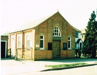 Queniborough Primitive Methodist chapel | Keith Guyler 1987