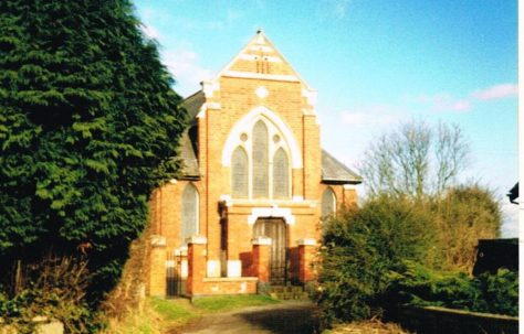 Stapleton Primitive Methodist chapel