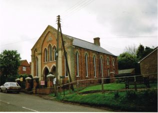 former Primitive Methodist chapel at Whissendine | Keith Guyler 1997