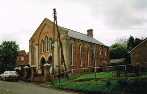 Whissendine Primitive Methodist chapel