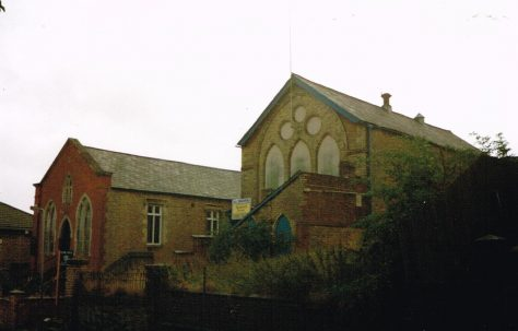 Raunds Primitive Methodist chapel