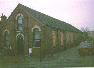 former Primitive Methodist chapel at Rushden | Keith Guyler 1998