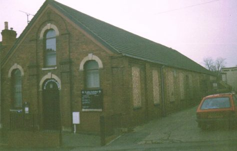 Rushden Primitive Methodist chapel