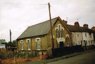 Wyboston Primitive Methodist chapel in 1997   Keith Guyler 1997