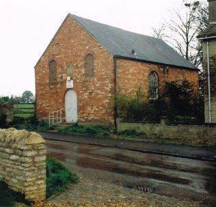 Brigstock chapel | Keith Guyler 1989