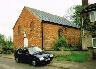first Brigstock Primitive Methodist chapel | Keith Guyler 1989