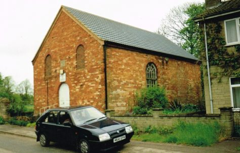 Brigstock Primitive Methodist chapel