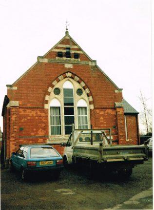 former Rushton Primitive Methodist chapel   Keith Guyler 1996