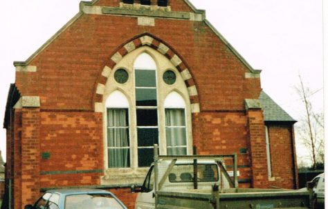 Rushton Primitive Methodist chapel