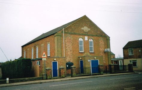 Crowland Primitive Methodist chapel