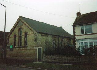 former Market Deeping Primitive Methodist chapel   Keith Guyler 1995