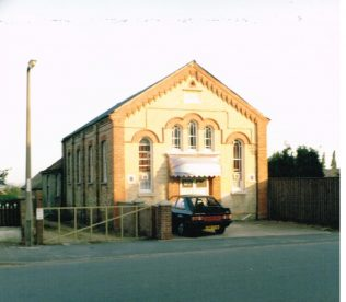 Yaxley Primitive Methodist chapel | Keith Guyler 1986