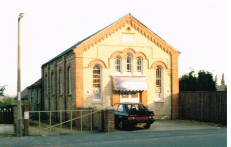 Yaxley Primitive Methodist chapel