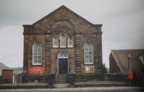 Coal Aston Primitive Methodist chapel