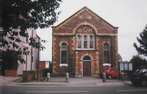 Clowne Primitive Methodist chapel