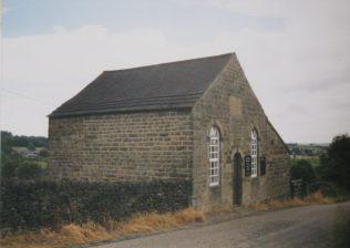 1824 Milltown Primitive Methodist Chapel as it was in 1998. It was rebuilt in 1870 | Keith Guyler 1998