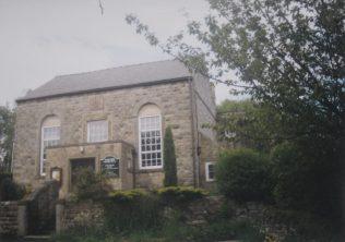 1860 Calver Jubilee Primitive Methodist as it was in 1999 when it was still active.   Keith Guyler 1999