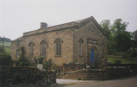 Middleton by Youlgreave Primitive Methodist chapel