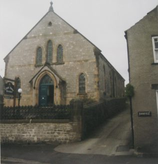 1895 Tideswell Primitive Methodist Chapel  as it was in 1999 | Keith Guyler 1999
