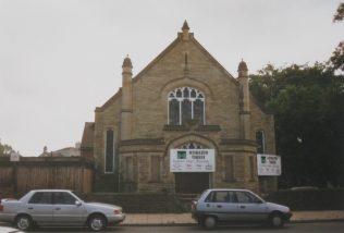 Thorne Primitive Methodist second chapel (1907)   Keith Guyler 1998