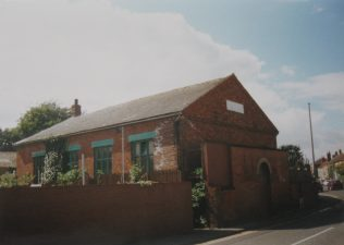 Hall for the first Thorne Primitive Methodist chapel   Keith Guyler 1998