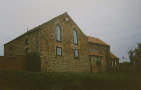 Laxton Primitive Methodist chapel