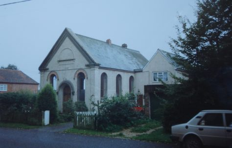 Ashmansworth Primitive Methodist chapel