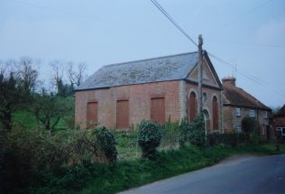 1848 Leckford Primitive Methodist chapel as it was in 1992 | Keith Guyler 1992