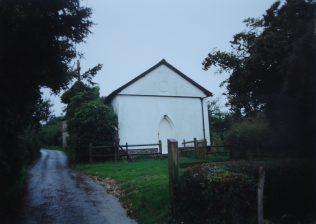 1845 Littledown Primitive Methodist Chapel as it was in 1992. It seated 50 people. | Keith Guyler 1992