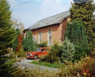 1869 Longparish Primitive Methodist chapel as it was in 1990. By then it had become a house. | Keith Guyler 1990