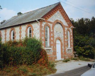 Longstock Primitive Methodist chapel | Keith Guyler 1990