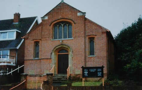 Upper Clatford Primitive Methodist chapel