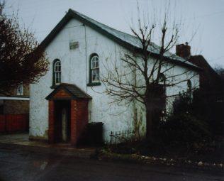 Vernham Dean Primitive Methodist chapel | Keith Guyler 1991