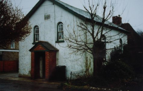 Vernham Dean Primitive Methodist chapel