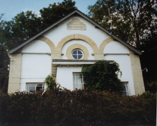 1887 Wherwell Primitive Methodist chapel in Fullerton Road  as it was in 1990 when it was a house. | Keith Guyler 1990