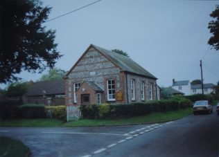 Wildhern Primitive Methodist chapel | Keith Guyler 1992