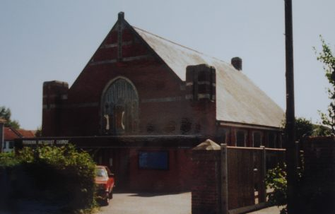 Purbrook Primitive Methodist chapel