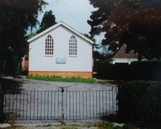 Curdridge Primitive Methodist chapel | Keith Guyler 1992