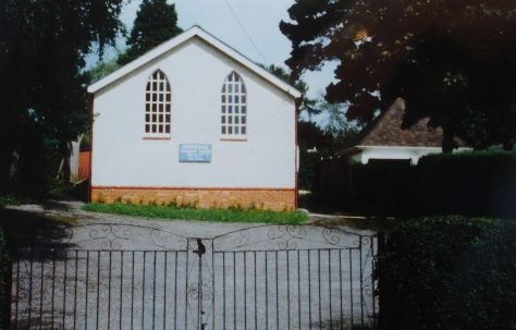 Curdridge Primitive Methodist chapel