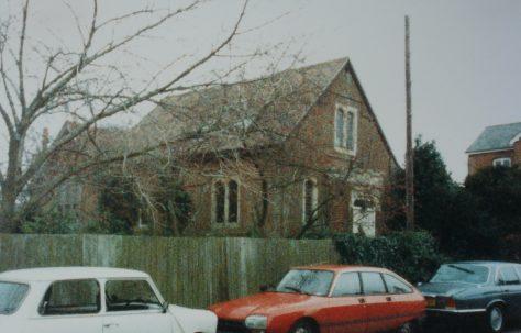 Easton Primitive Methodist chapel