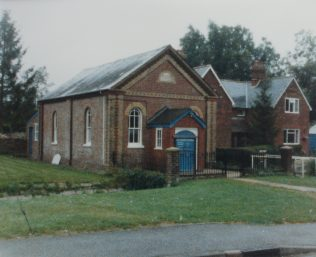 Kings Somborne Primitive Methodist chapel | Keith Guyler 1988
