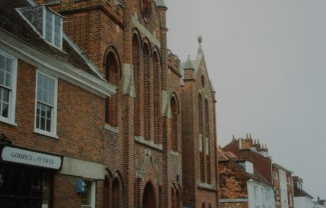 Winchester Parchment Street Primitive Methodist chapel