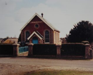 1908 Canada Primitive Methodist Chapel as it was in 1988. Keith Guyler calls it Canada Common. It is still active in 2015. SO51 6DH | Keith Guyler 1988