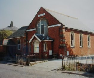 2nd chapel in Middlebridge St, used as an Elim Church when this photo was taken | Keith Guyler, 1989